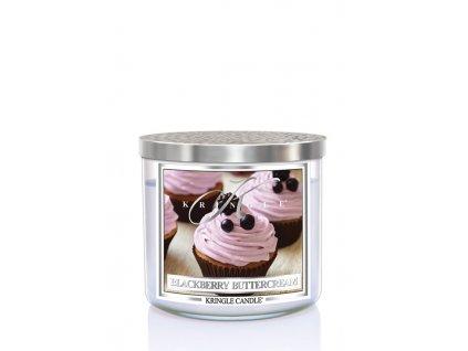 kringle candle tumbler 3knôtový 411gblack berry buttercream