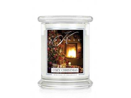 Vonná sviečka sviatočná vôňa