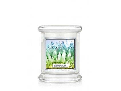 Vonná sviečka svieža vôňa