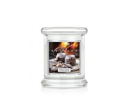 Kringle Candle FIRESIDE vonná sviečka mini 1-knôtová (127 g)