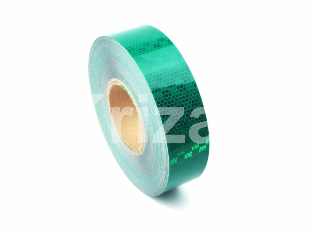 microprismatic reflective tape green