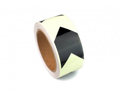 H8101C Glow in the Dark Directional Marking Tape 50mm D Roll