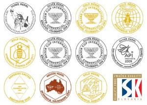 medaile Trnavská medovina