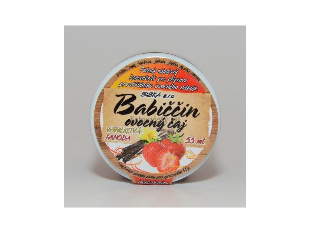 vanilková jahoda 55 ml