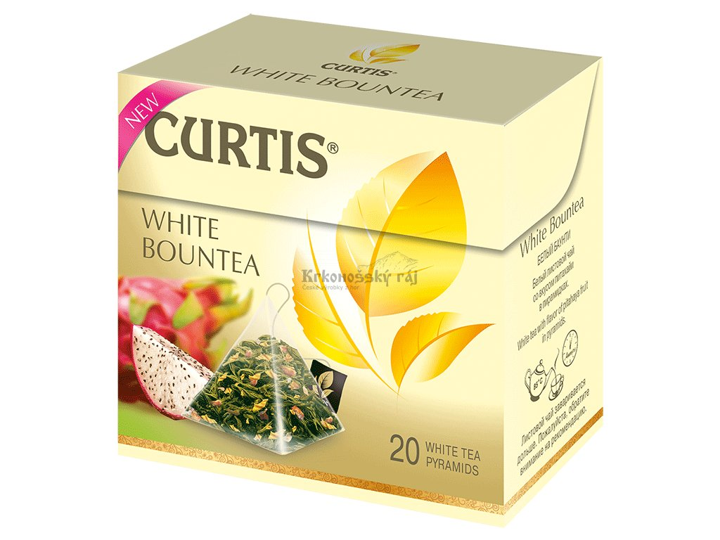 Curtis pyramid White Bountea
