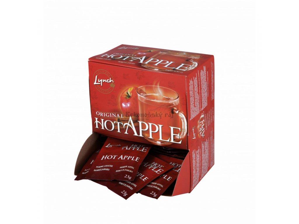 hot apple jablko sáčky