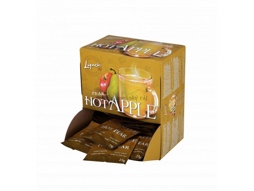 hot apple hruška sáčky