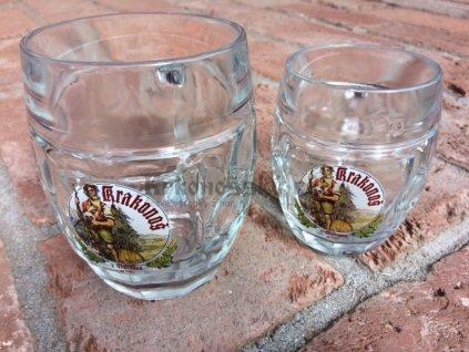 sklenice 0,5 a 0,3
