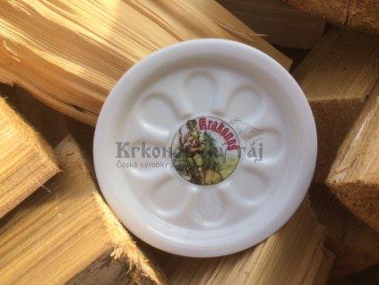 Pivní tácek Krakonoš, keramika