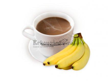 Horká čokoláda - banán