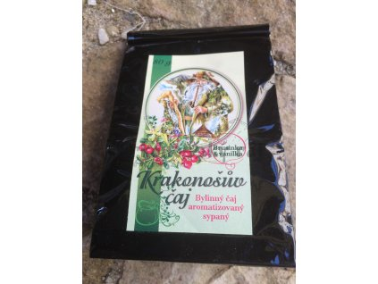Krakonošův sypaný čaj Brusinka&Vanilka, 80g