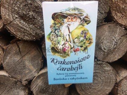 Čaj Krakonošovo čarobejlí - Borůvka s rakytníkem 20x2g nálevné sáčky