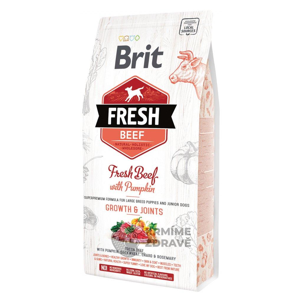 brit fresh beef with pumpkin puppy large 2 5kg default