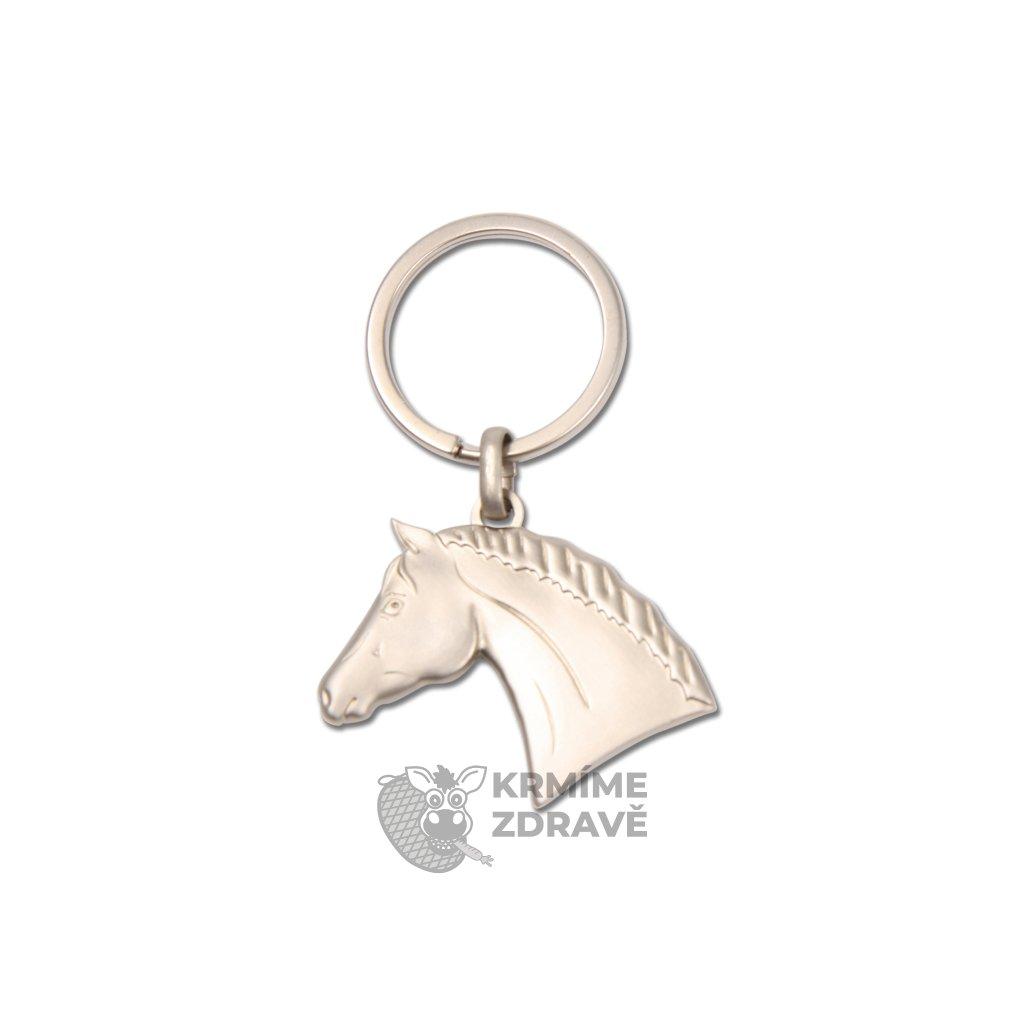 Přívěšek na klíče hlava koně