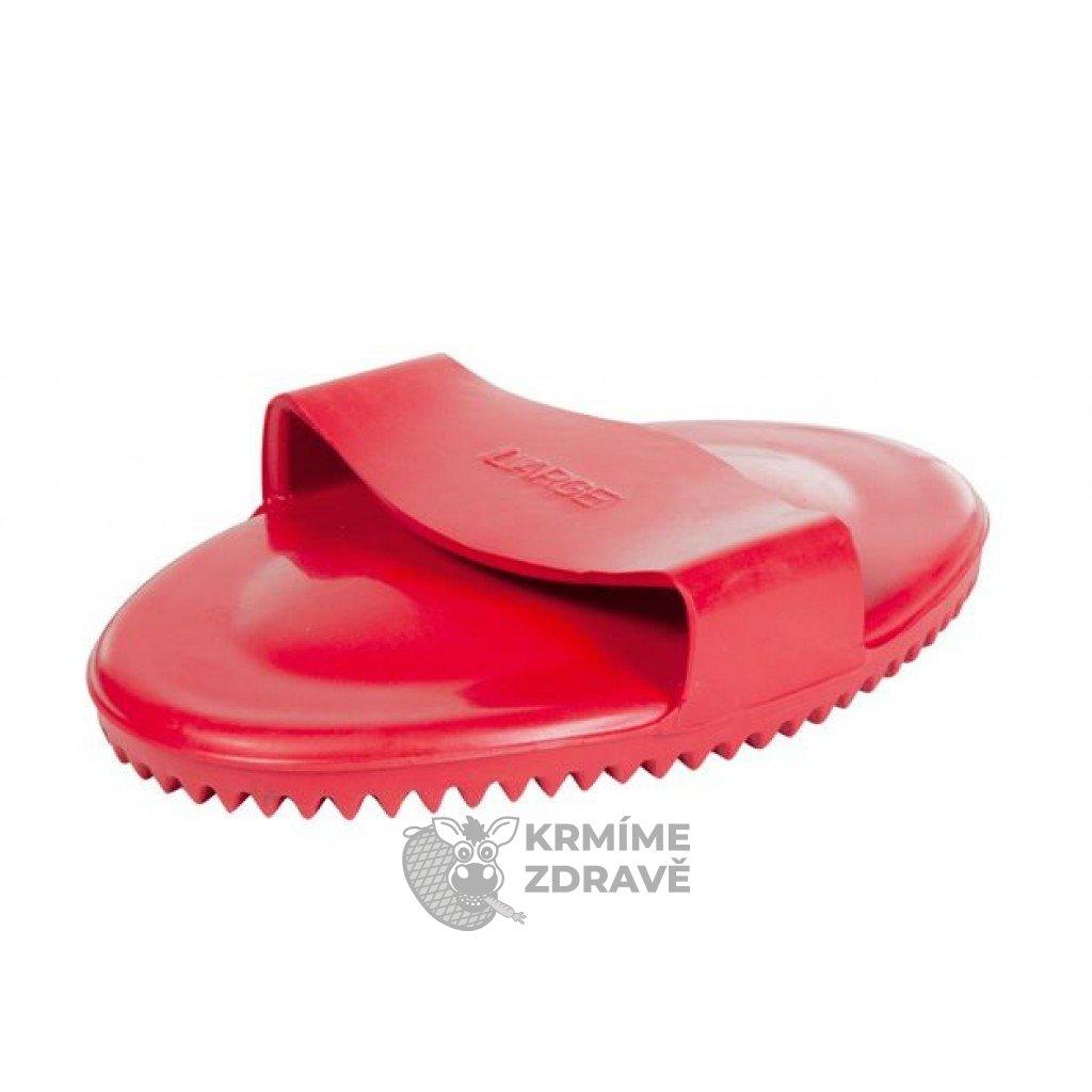 Hřbílko gumové červené