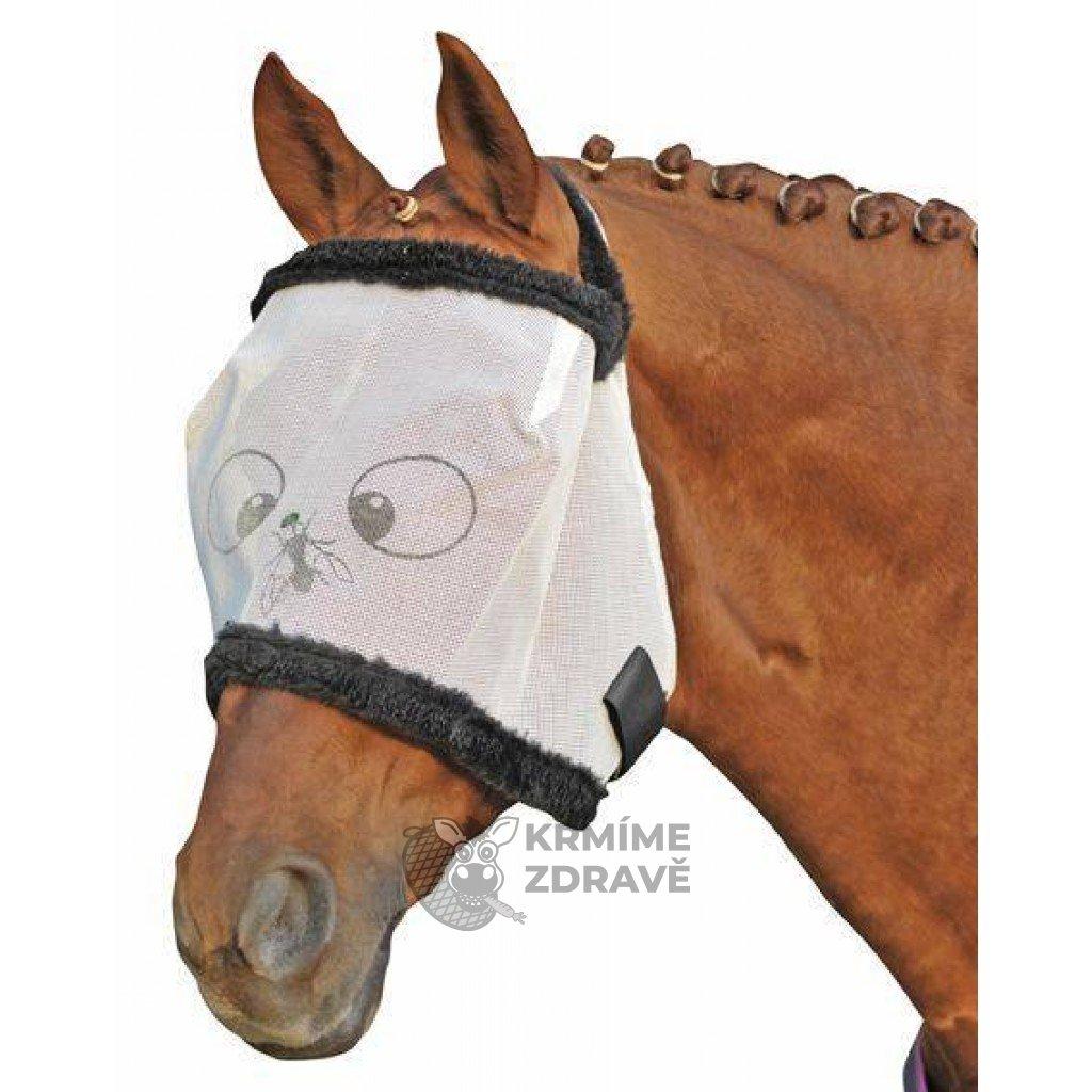 Maska na hlavu s beránkovým lemem Funny