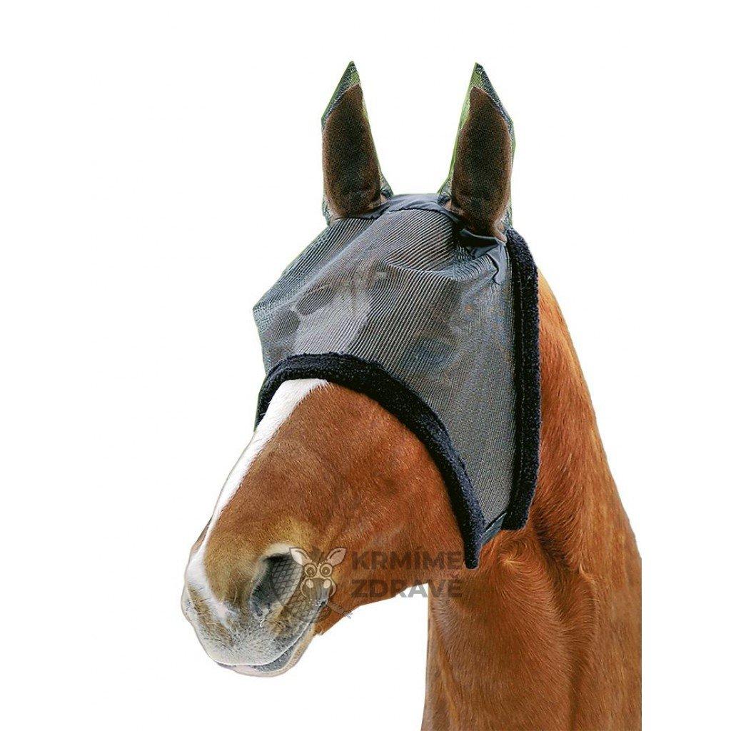 Maska na hlavu s beránkovým lemem