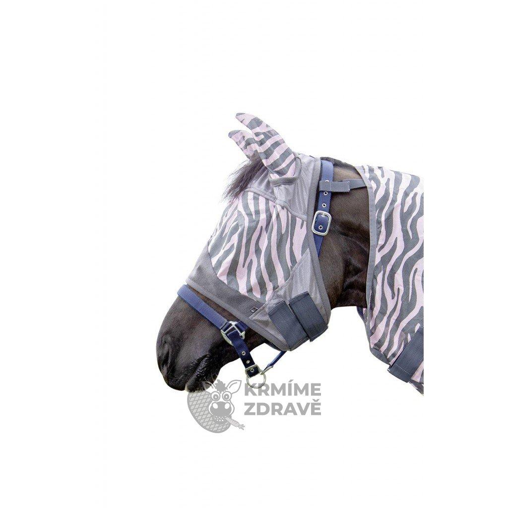 Maska na hlavu Zebra ROSE