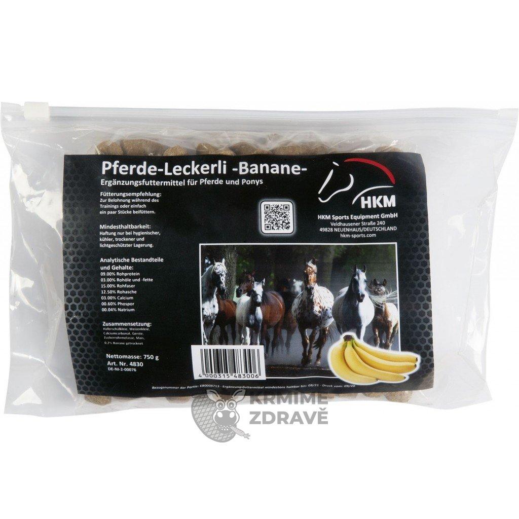 Pamlsky banánové, 750 g