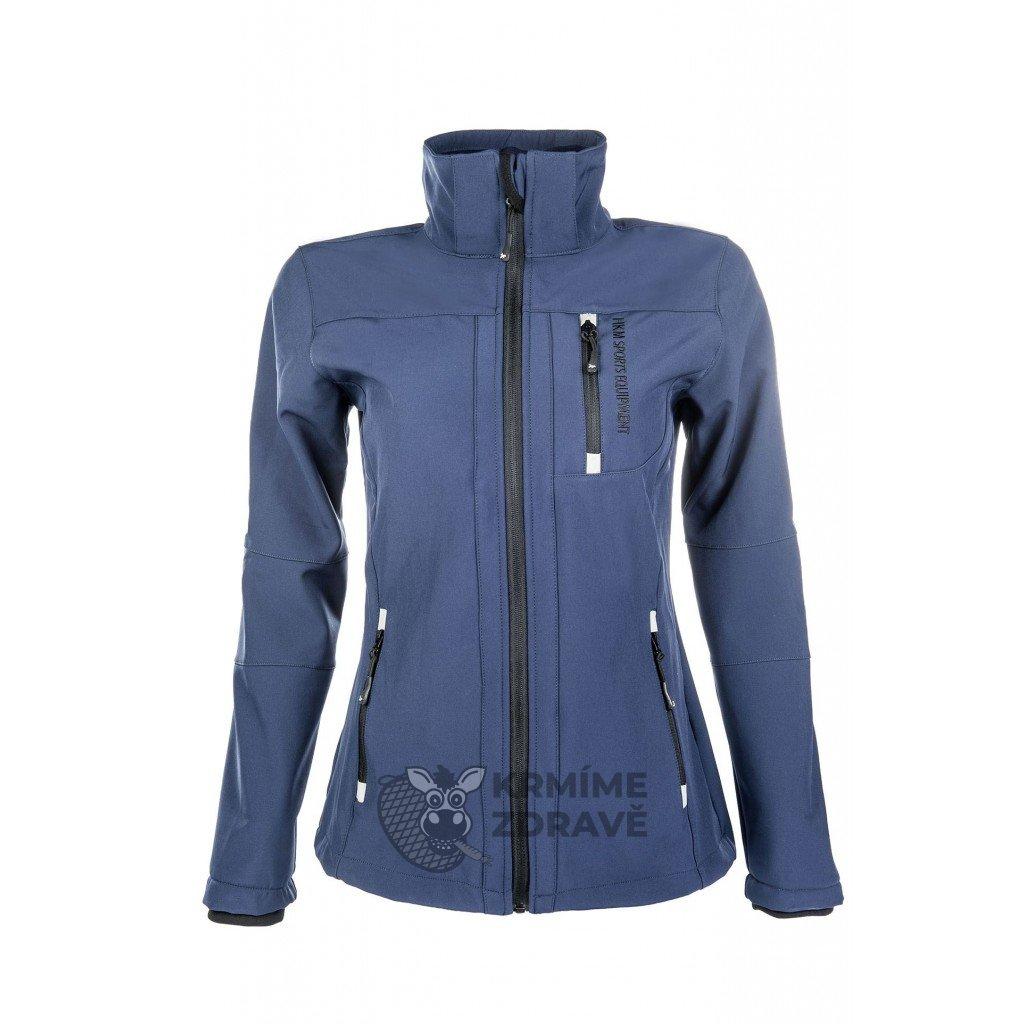 Bunda softshellová Sport - modrá,dámská