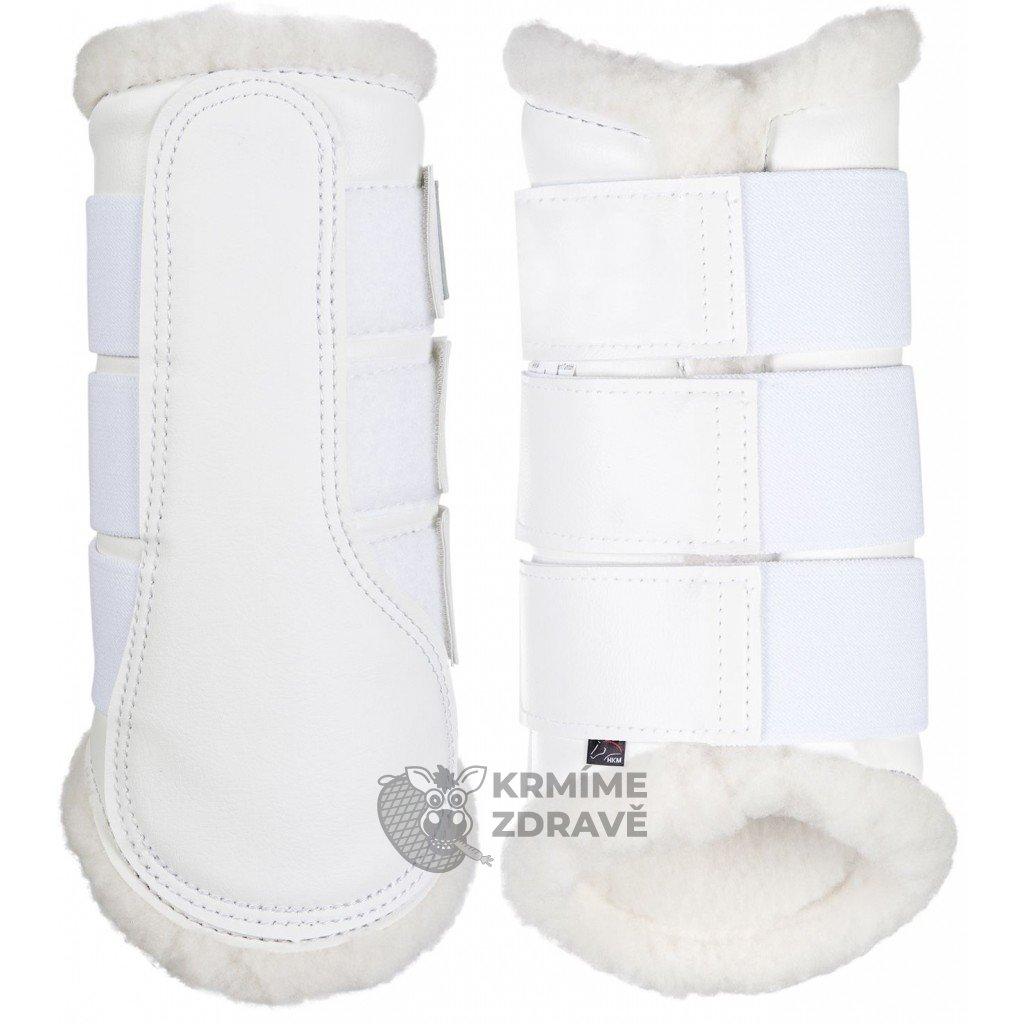 Kamaše Comfort-Bílé