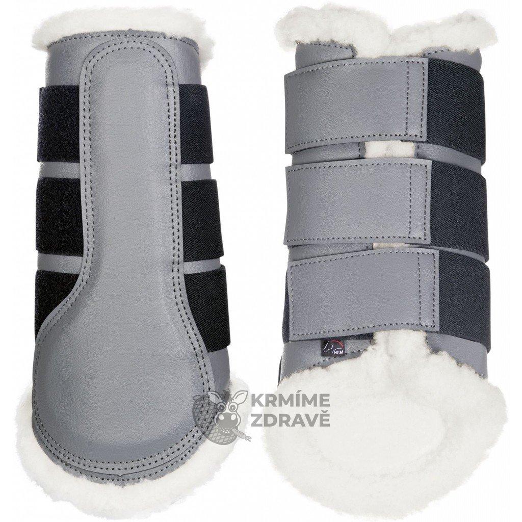 Kamaše Comfort-šedé