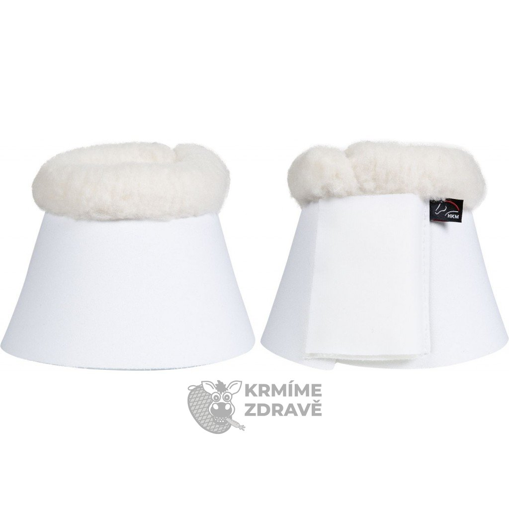 Zvony Comfort, polstrované-bílé