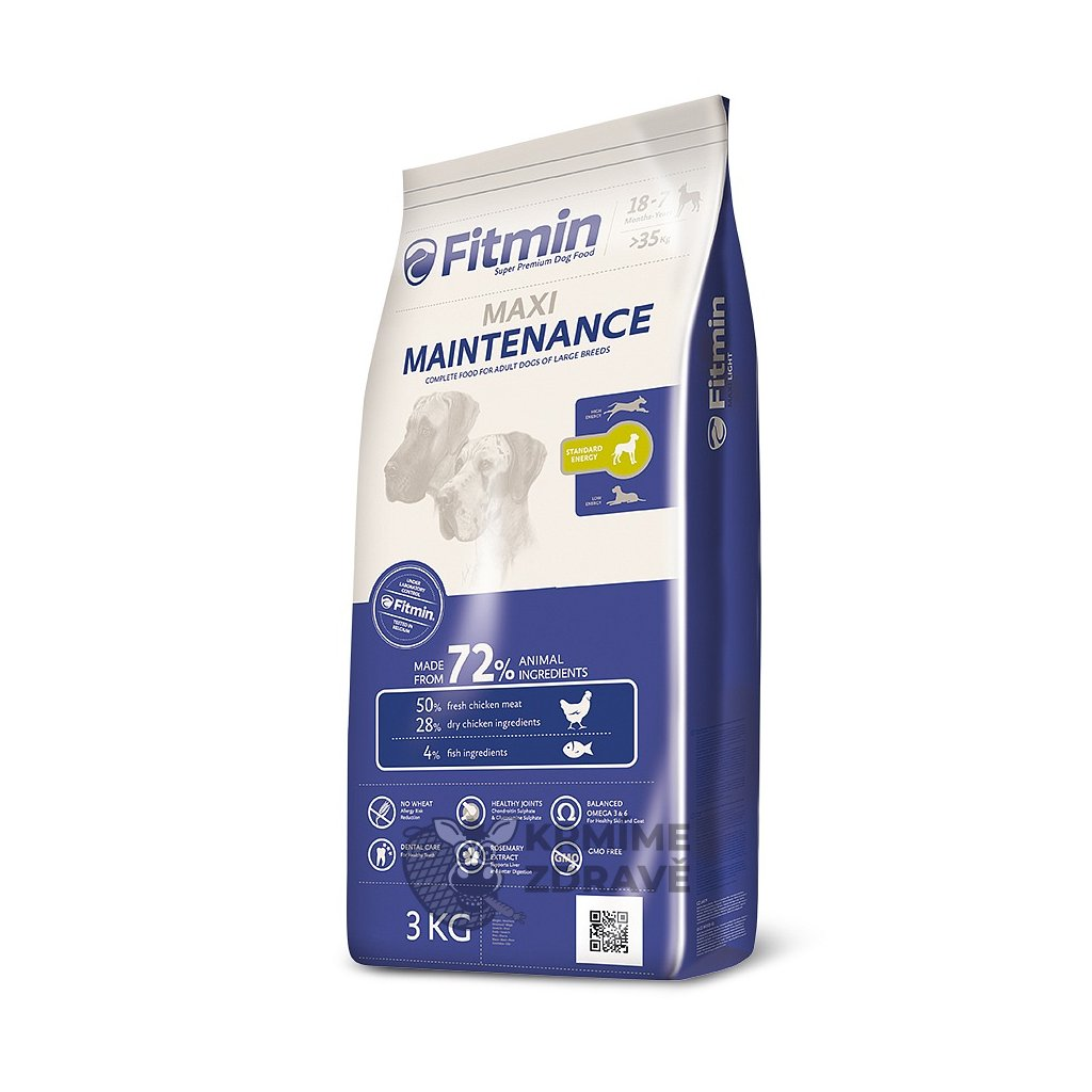 fitmin dog maxi maintenance 3 kg h L