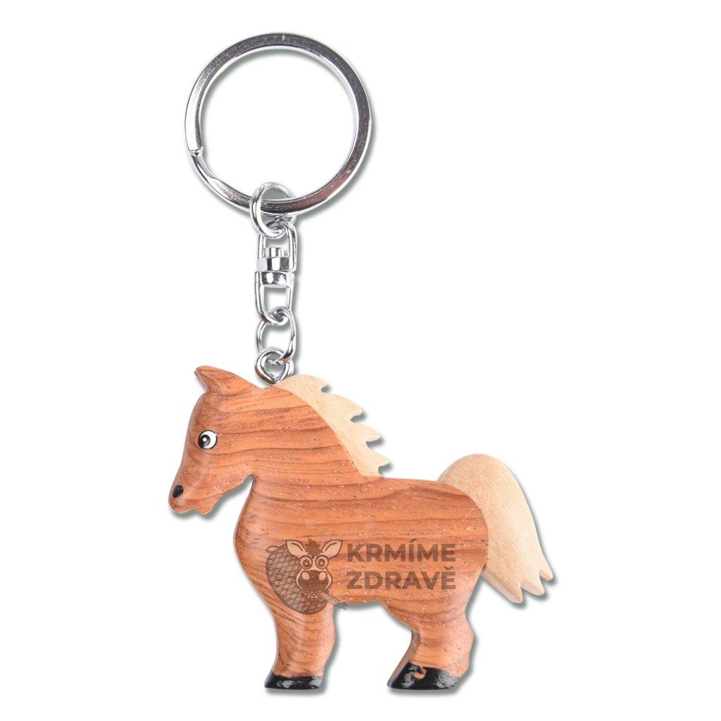 Přívěšek na klíče koník