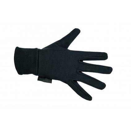 Jezdecké rukavice fleece HKM