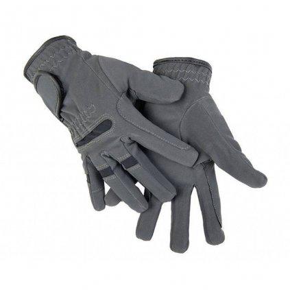 Jezdecké rukavice zimní Gentle HKM