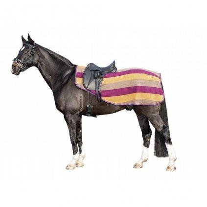 Bederní odpocovací deka pruhovaná HKM