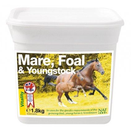 Vitamíny a minerály pro březí klisny, hříbata a mladé koně 1,8 kg