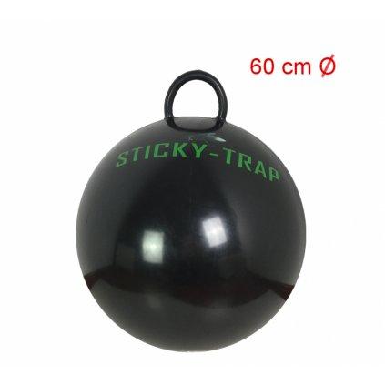 Černý míč k výrobě pasti na ovády Sticky Trap