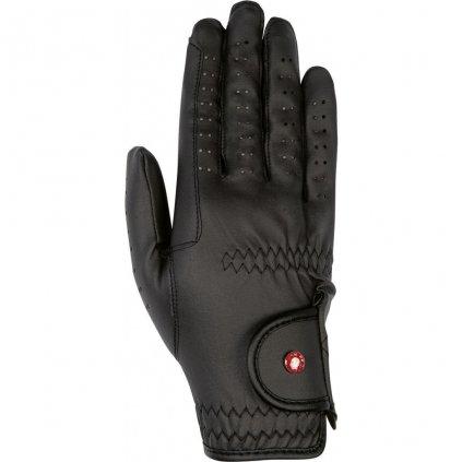 Jezdecké rukavice  Professional Soft - černé