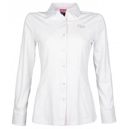 Jezdecká košile Rimini-Bílá
