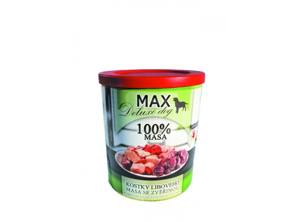 Sokol Max kostky masa + zvěřina 800g