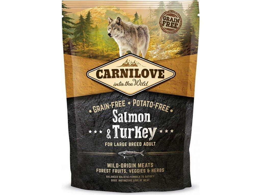 Carnilove Salmon & Turkey LB adult 1,5 kg