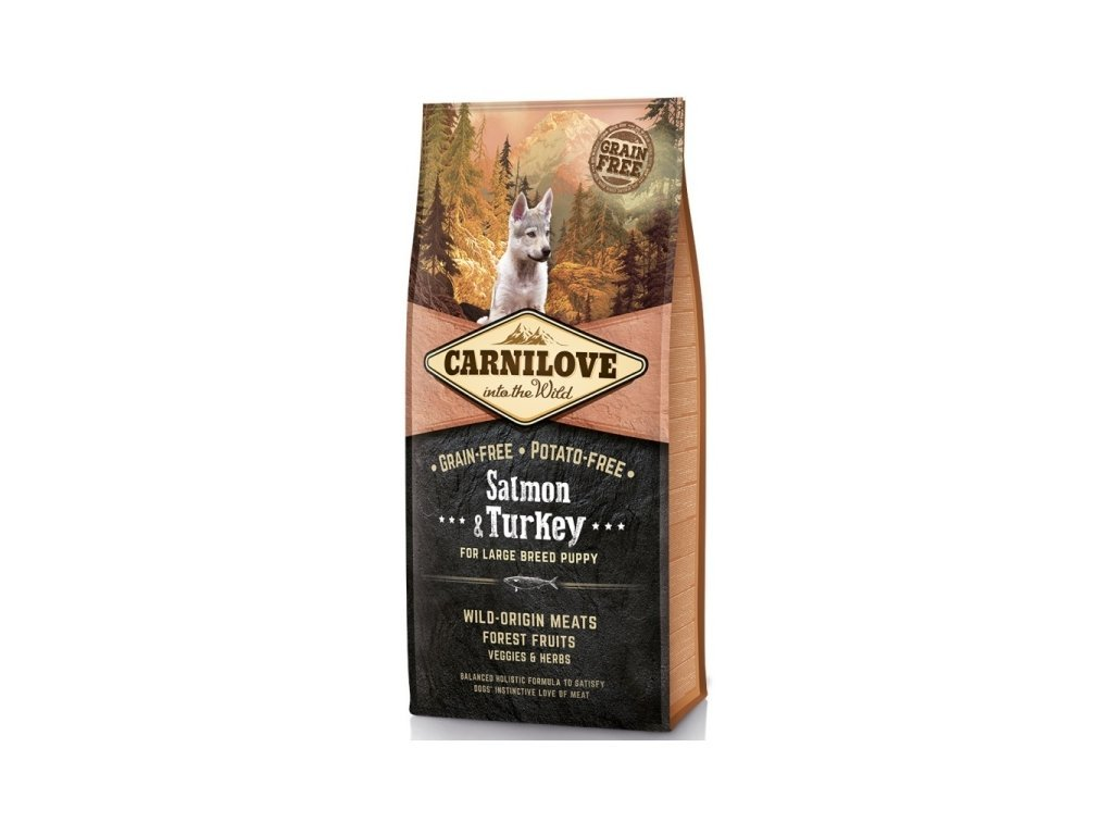 Carnilove Salmon & Turkey LB Puppy 1,5 kg