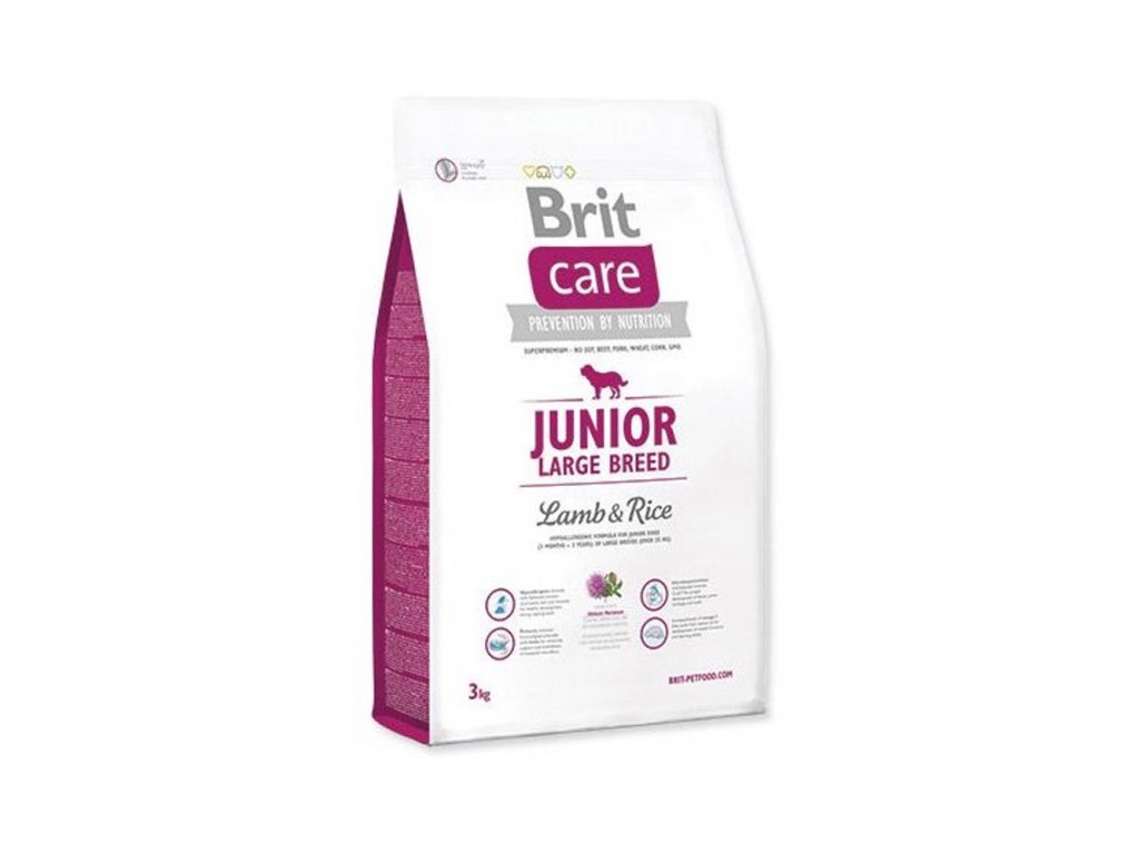 Brit Care Junior Large Breed Lamb 3 kg
