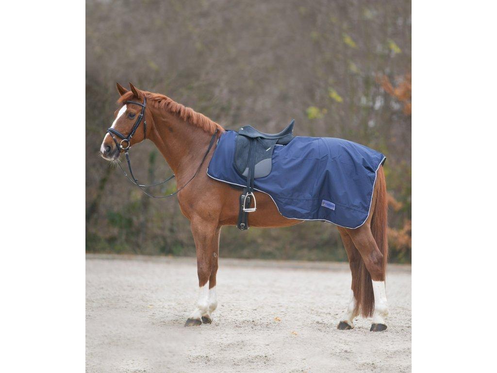 Waldhausen Pláštěnka bederní pony modrá