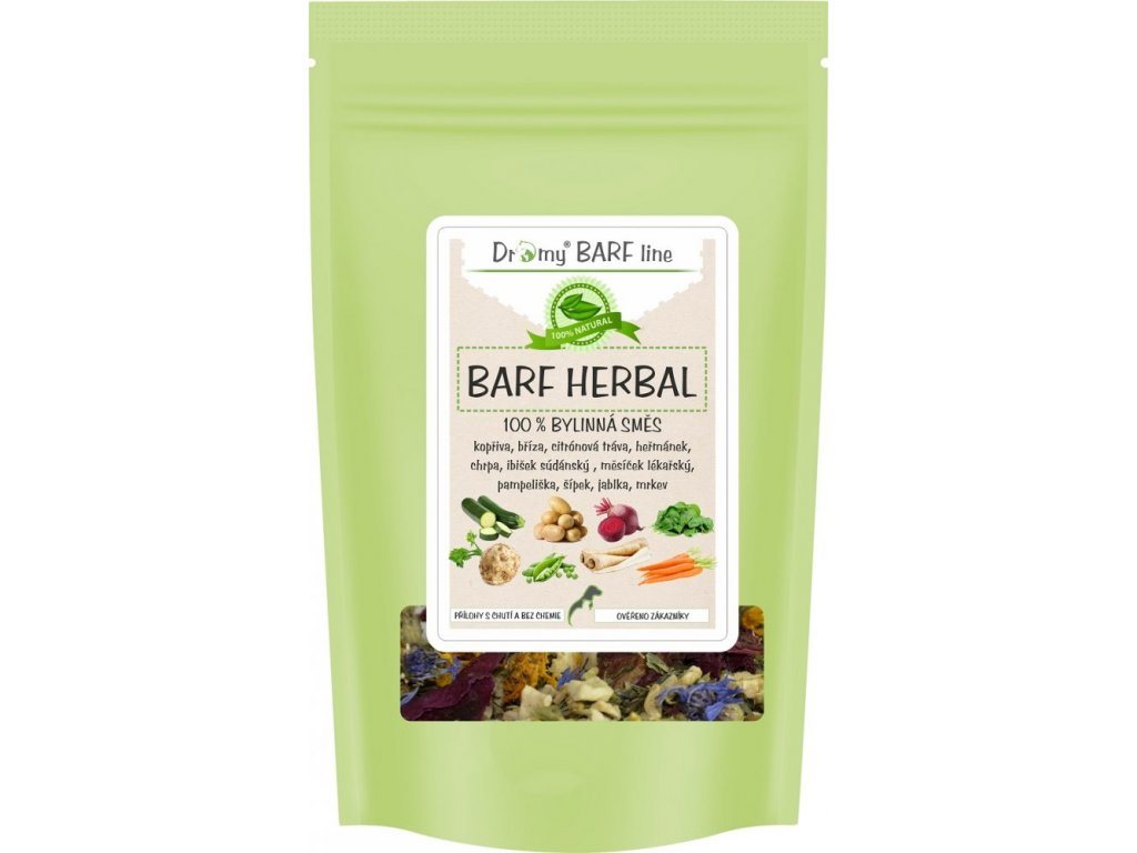Dromy Bylinný mix Barf Herbal 500g