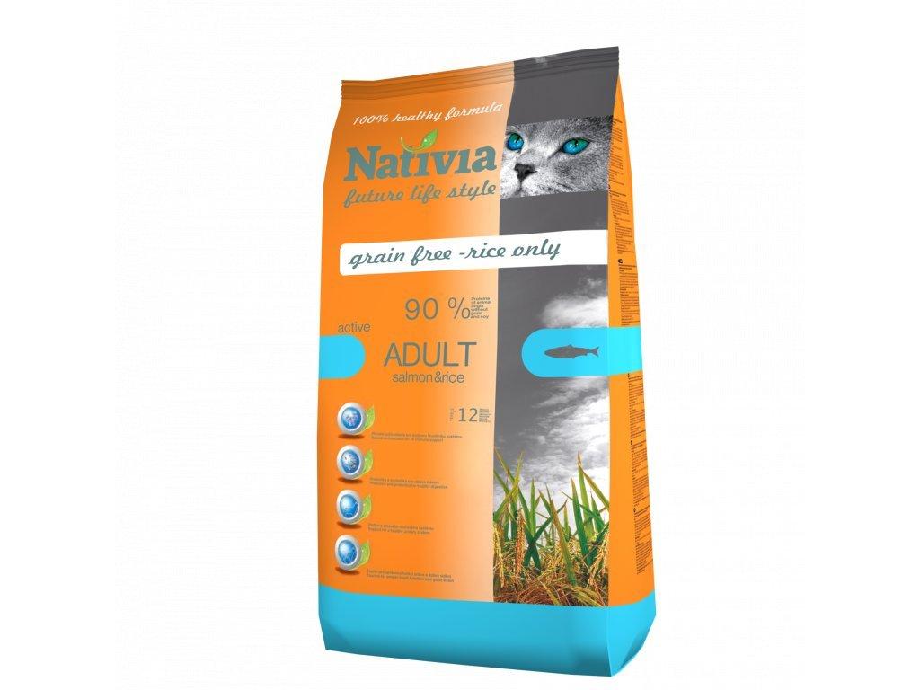Nativia Cat Salmon Active 1,5 kg
