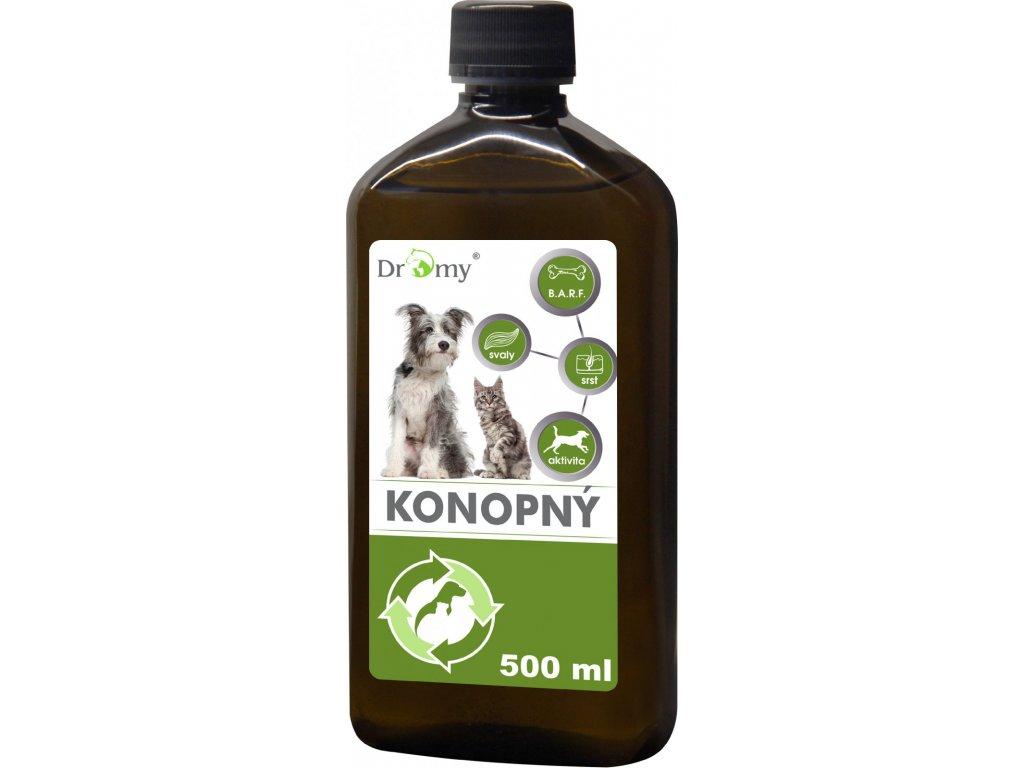 Dromy Konopný olej 500ml