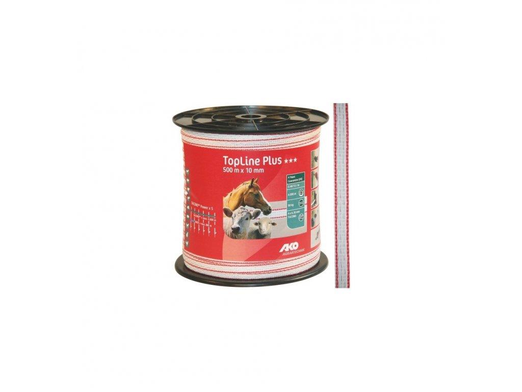 Páska Top line Plus 50010, bílo červená