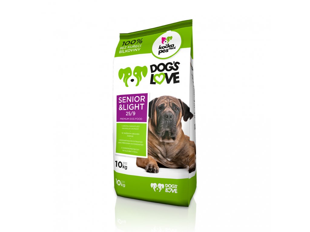 Dog´s Love Senior and light 3kg