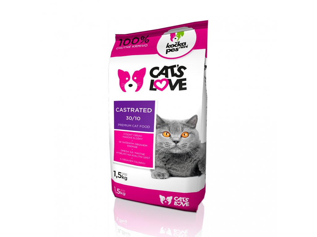 Cat´s Love Castrated 1,5 kg