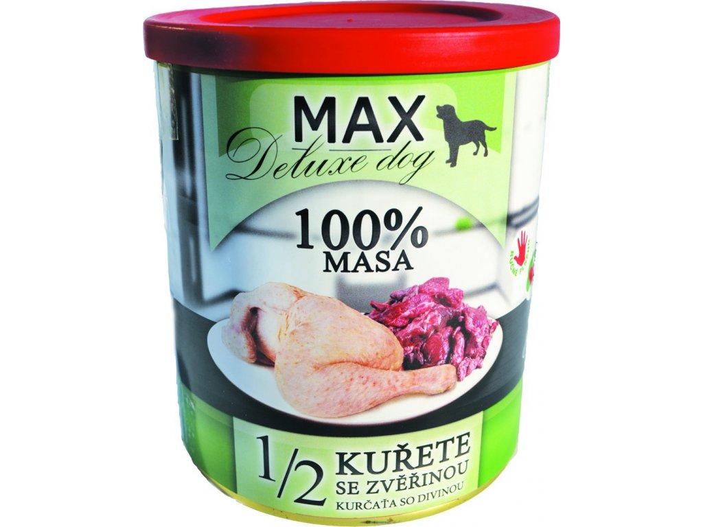Sokol Max 12 kuře+zvěřina 800g