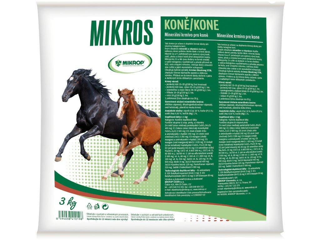 Mikros Koně 3kg