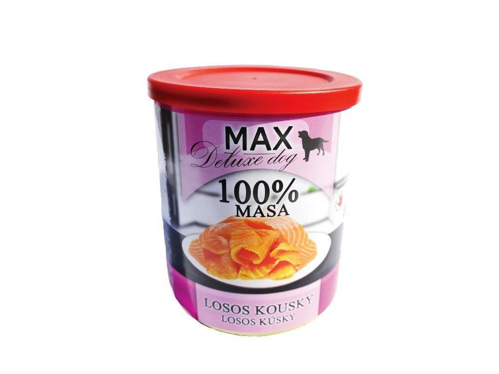 Sokol Max losos kousky 800g